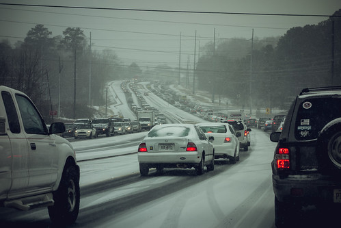 #Snowpocalypse Atlanta 2014 - traffic