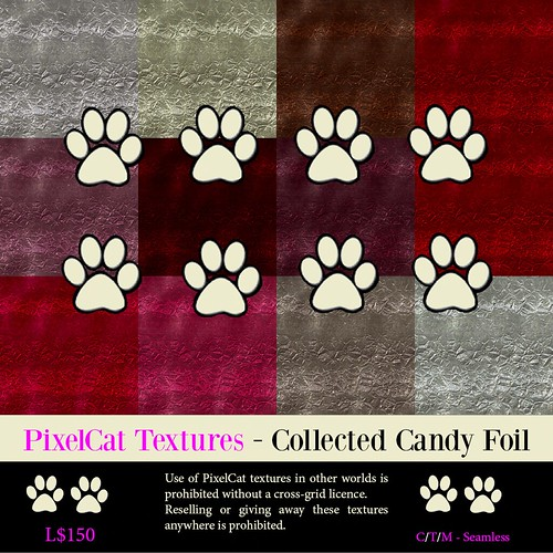 PixelCat Textures - Collected Candy Foil