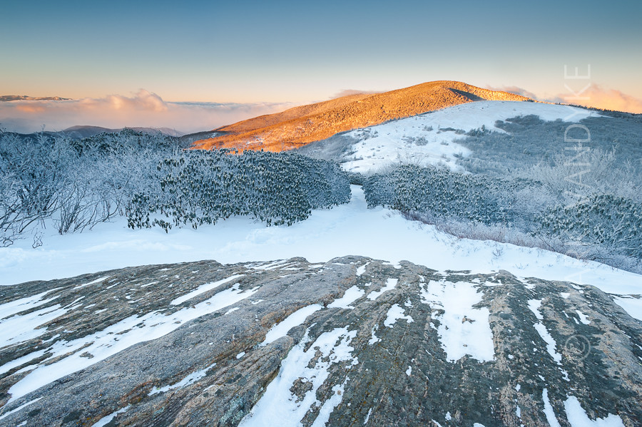 Roan Highlands Winter Scenic from Jane Bald