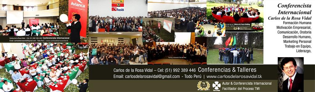 Carlos de la Rosa Vidal - Conferencista Internacional