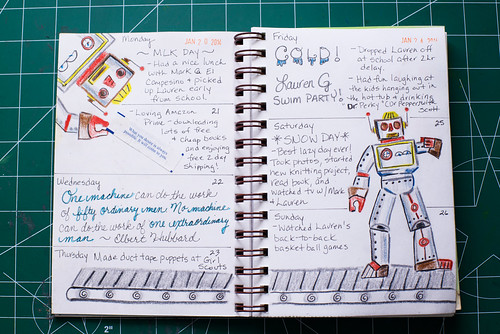 2014 Sketch Journal - Week 4