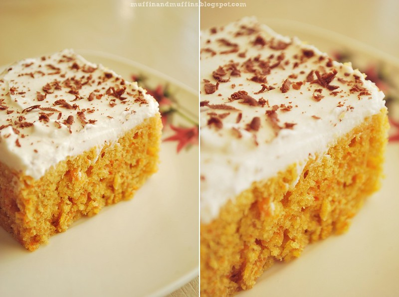 Vegan Carrot Cake with Coconut Cream Icing