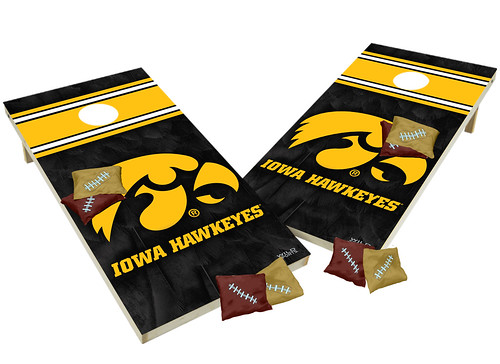 Iowa Hawkeyes Custom Cornhole Boards XL