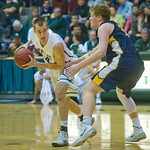 2014-02-27 -- Men's basketball vs. Augustana.