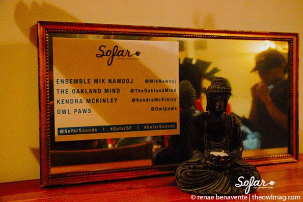 Sofar Sounds, SF 5/19/14