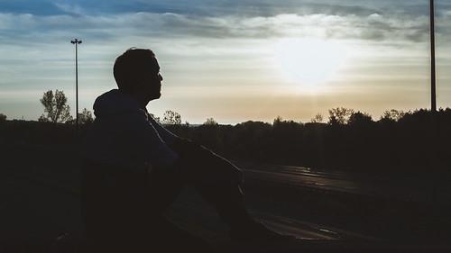 morning portrait sky sunrise canon de soleil autoportrait selfportraits ciel 365 40mm matin t3i levédesoleil levé uvav