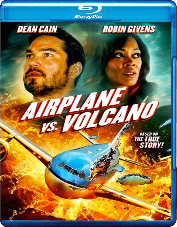 飞机和火山电影