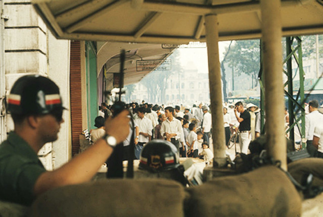 SAIGON 1967 - B.E.Q. Guard