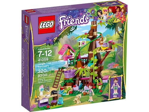 41059 Jungle Tree Sanctuary BOX