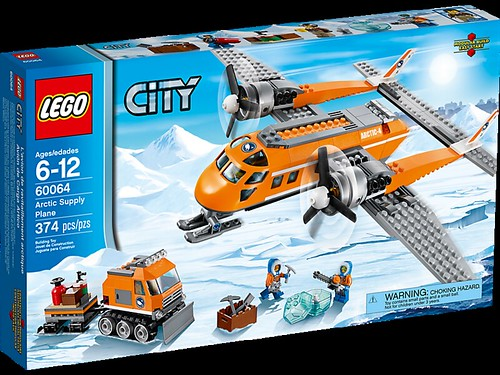 LEGO City Arctic Supply Plane (60064)