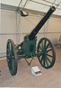 Krupp 88mm C73 gun on siege carriage. (1895) at Fort Nelson