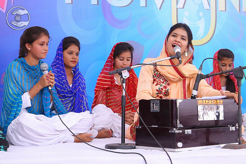 Devotional song by Simran and Saathi from Panchkula