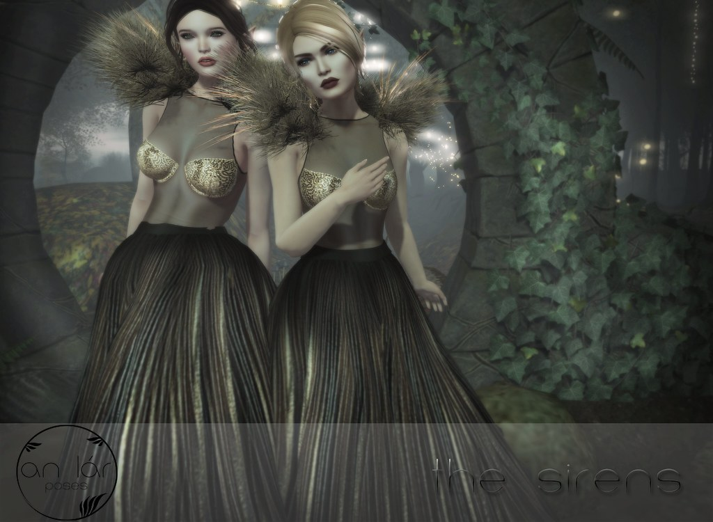 an lár [poses] The Sirens - SecondLifeHub.com