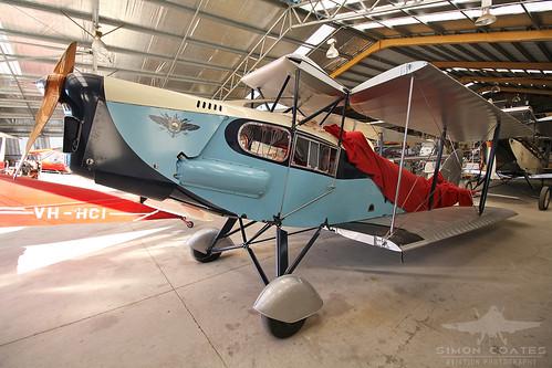VH-UVL DE HAVILLAND DH-83 FOX MOTH