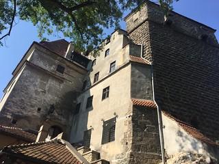 Image of Bran Castle near Bran. bran castle castelulbran dracula romania