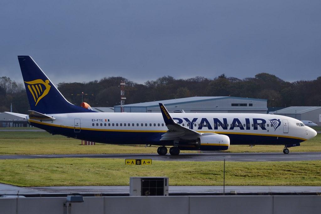 EI-FTC - B738 - Ryanair