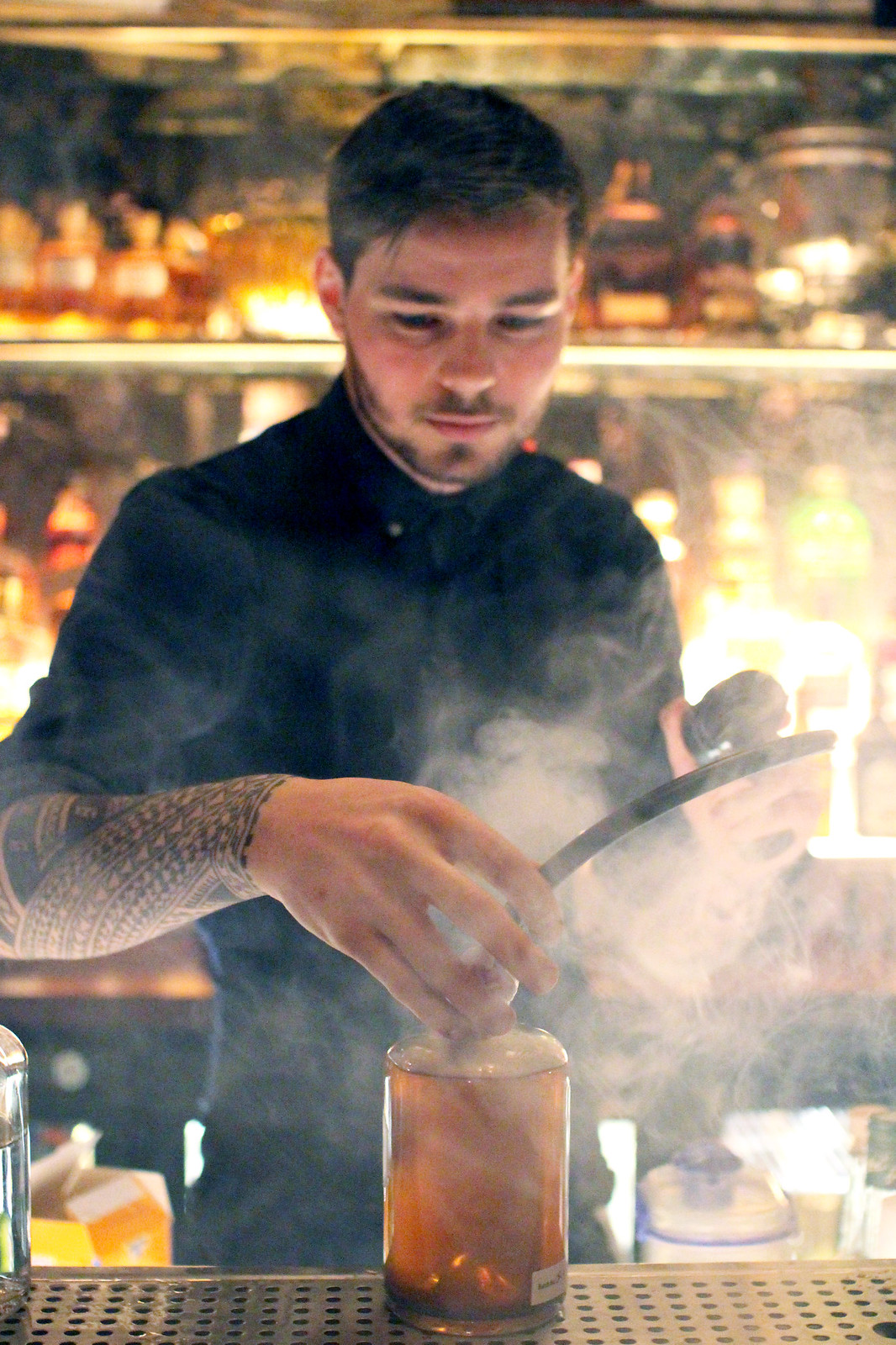 Dishoom restaurant cocktails Edinburgh Scotland lifestyle blogger UK