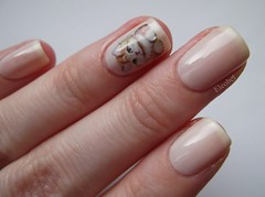 L'Oreal Opera Ballerina and cute cat water decal from BornPrettyStore.com
