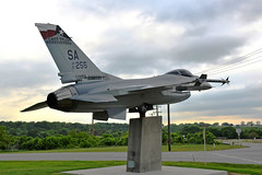 F-16C Fighting Falcon, U. S. Air Force- Texas Air National Guard (87-0255) Joint Base San Antonio- Lackland Air Force Base, Texas