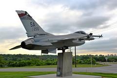 F-16C Fighting Falcon, U. S. Air Force- Texas Air National Guard (87-0255) Joint Base San Antonio- Lackland Air Force Base, Texas