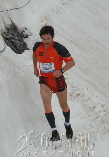 Χαρακτηριστική η φωτογραφία του Ελβετού Jaquerod να διασχίζει τα χιονισμένα Ζωνάρια