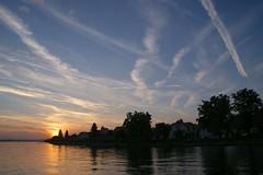 Abend am Bodensee