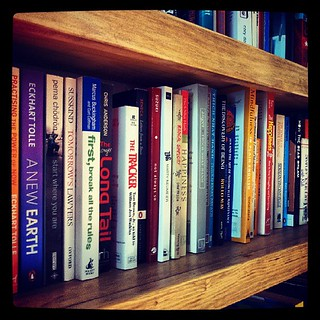One shelf of many. #books