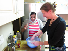 Cape Malay Cooking Class, Making Roti - Bo Kaap, Cape Town