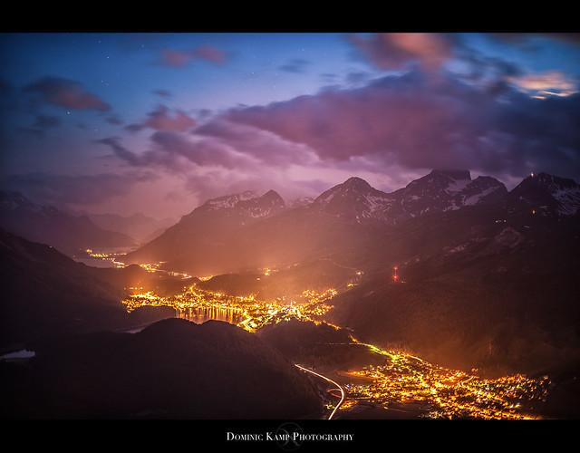St. Moritz from Muottas Muragl