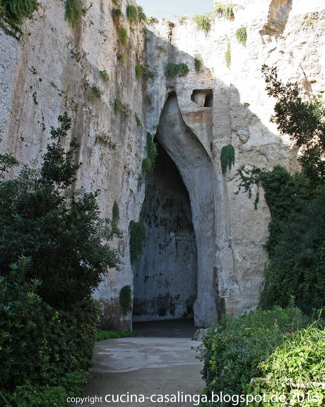 Siracusa Ohr des Dionysios