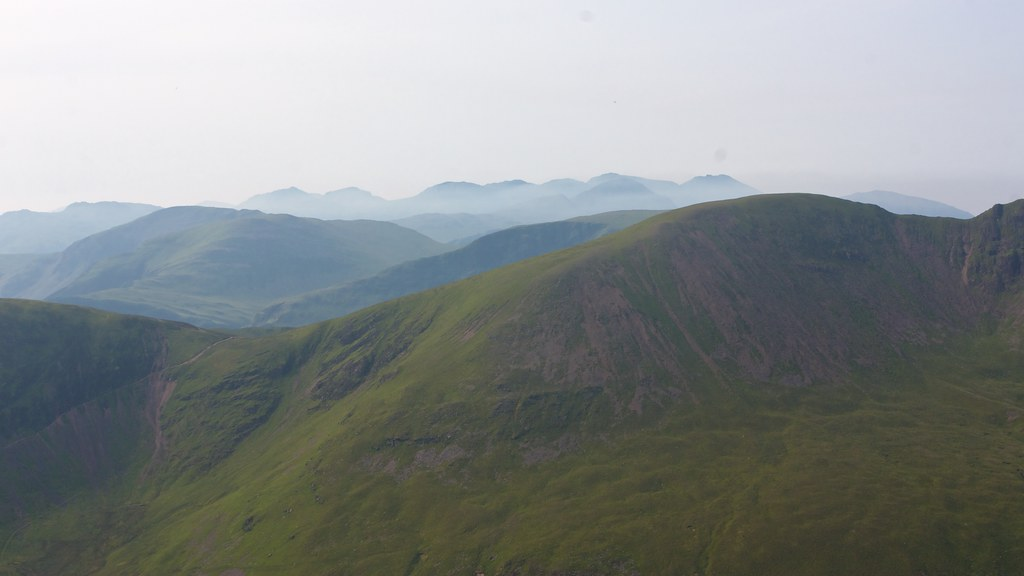 Mist around the Central Fells