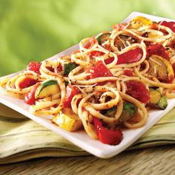 Pan-Grilled Veggie Pasta Primavera
