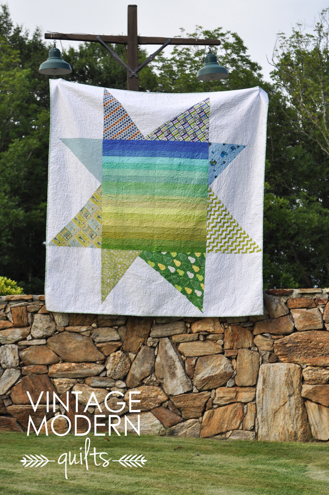 Ombre Star Quilt