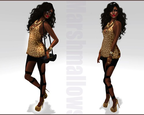 Cheetah Girl ~ Look Book by Romy Dash :: Marshmallows ::