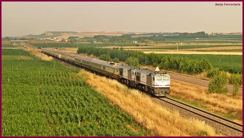 Tren Al - Andalus en tierras charras