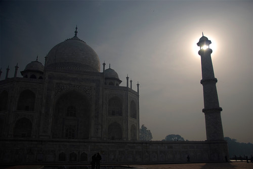Taj Mahal at sunrise, Agra, India