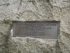 Photo of Alfred the Great bronze plaque