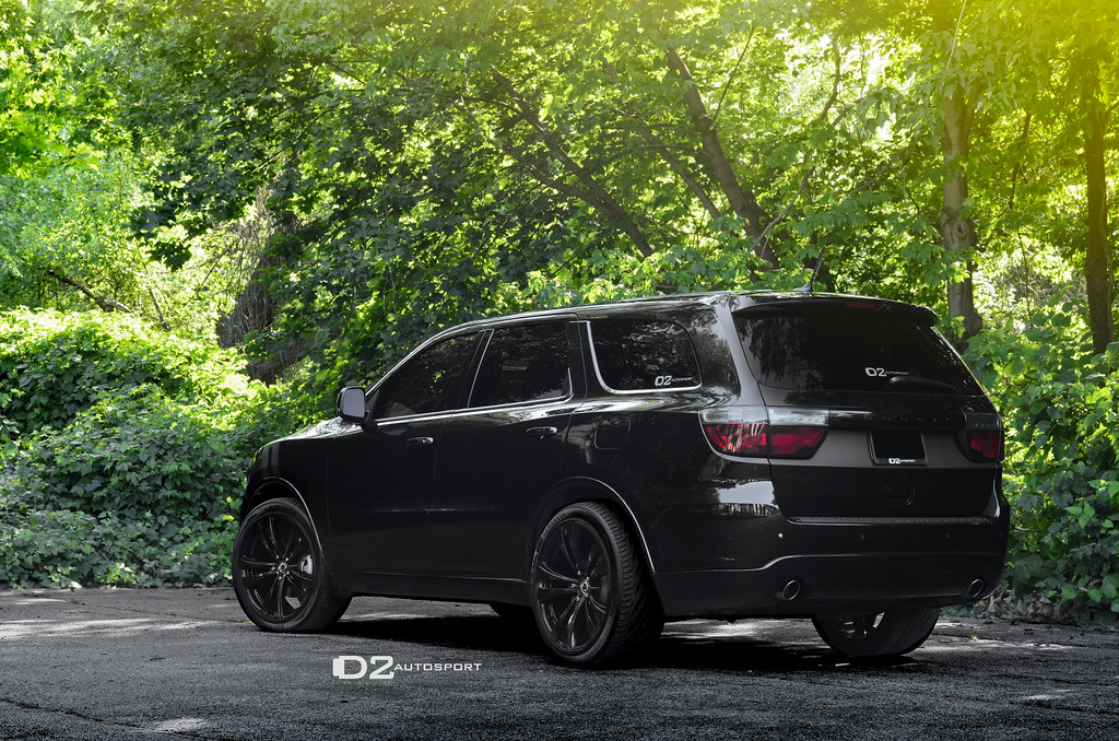Dodge Durango Rt Modded With Blackness D2autosport