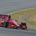 Dario Franchitti rolls through the Turn 6 Carousel at Sonoma Raceway