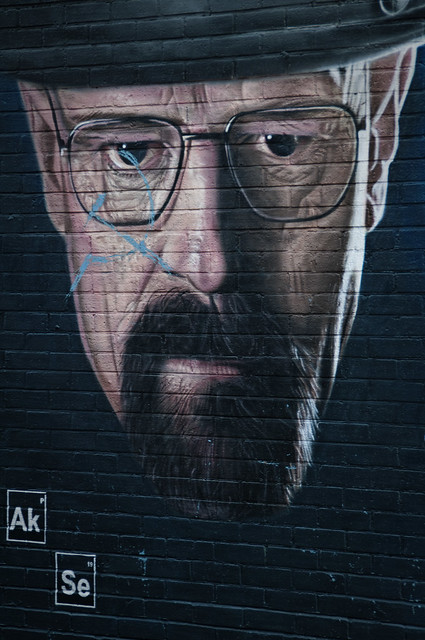 Walter White - Breaking Bad aka Heisenberg - by artist  Akse P.19