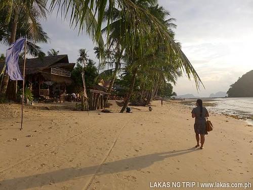 Orange Pearl Resort & Resto in Maremegmeg Beach in El Nido, Palawan, Philippines