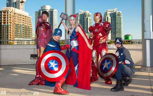 Fan Expo 2013 Toronto The Avengers by andreas_schneider