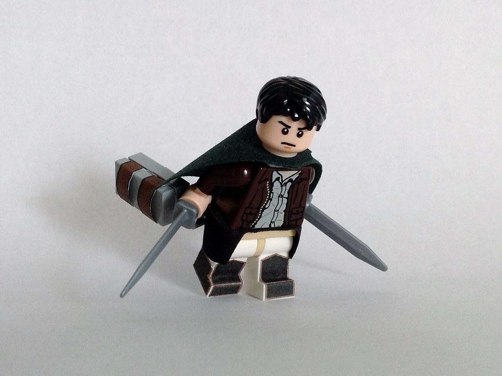 Lego Attack on Titan Eren Yeager (Survey Corps) - a photo ...