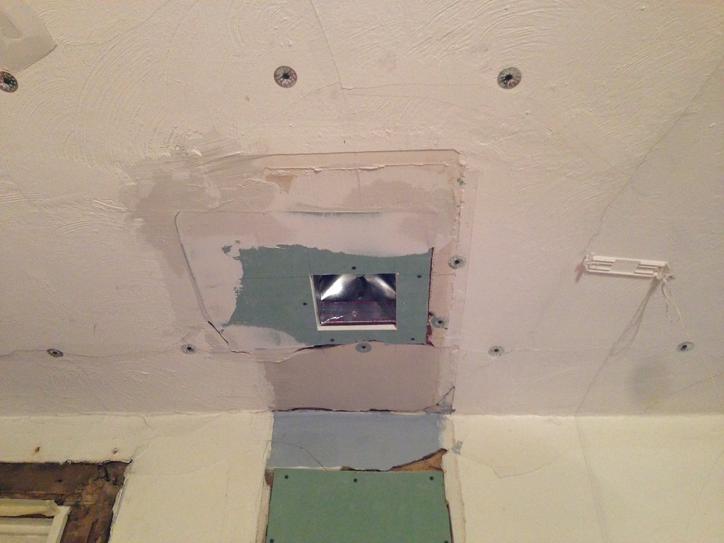 How To Fix A Hole In Plaster Wall Down Repairing Hole In