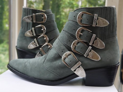 toga-pulla-buckled-ankle-boots