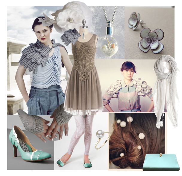 Greys of Winter on Polyvore