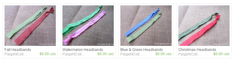 The Paige Nicole Collection Headbands on southeastbymidwest.com