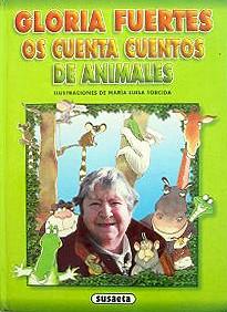 Cubierta de Gloria Fuertes os cuenta cuentos de animales.