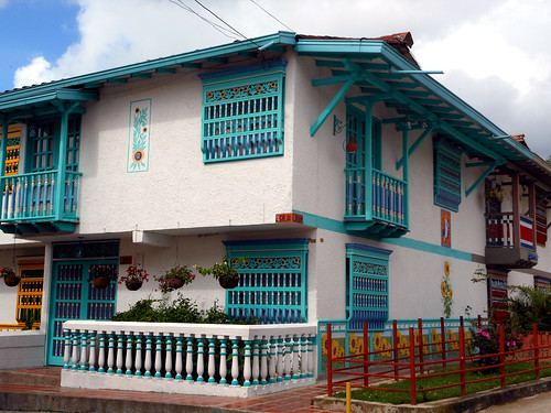 Guatapé, Colombia house
