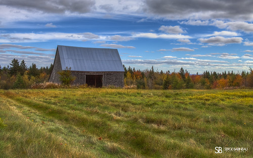 old autumn trees sky color colour fall abandoned nature colors field barn landscape colours rustic abandon hdr